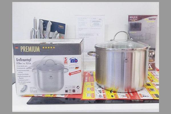[Tư vấn] nồi luộc gà dùng cho bếp từ loại nào tốt? 3