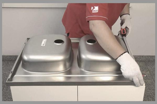[Tư vấn] cách lắp đặt chậu rửa chén bát 1
