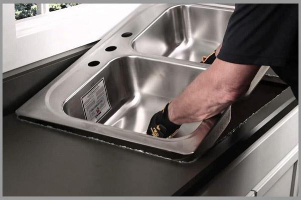 [Tư vấn] cách lắp đặt chậu rửa chén bát 5