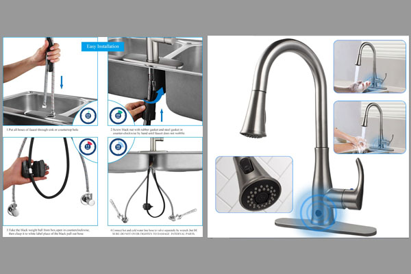 [Tư vấn] vòi rửa bát 3 đường nước loại nào tốt? 1
