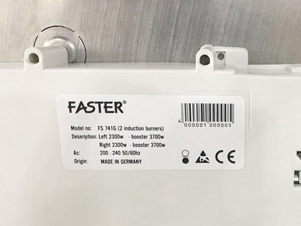 Bếp từ Faster FS 741G 2