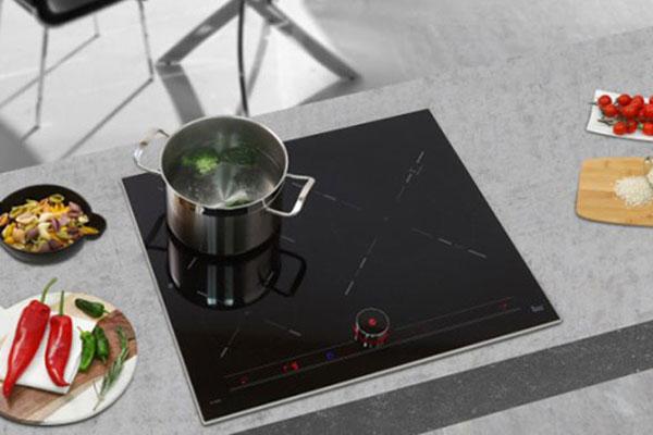 Hình ảnh lắp đặt thực tế bếp từ Teka IT 6350 IKNOB