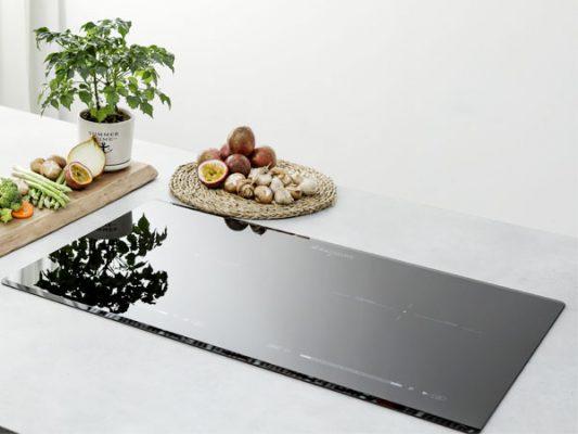 Hình ảnh lắp đặt thực tế bếp từ Zemmer IZM 201 B