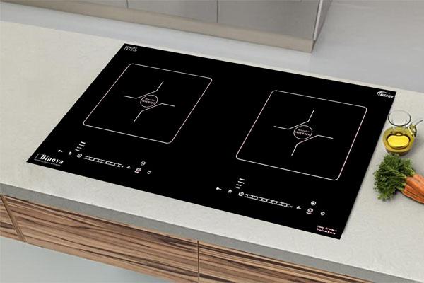 Hình ảnh thực tế bếp từ Binova BI-6699 ITALY