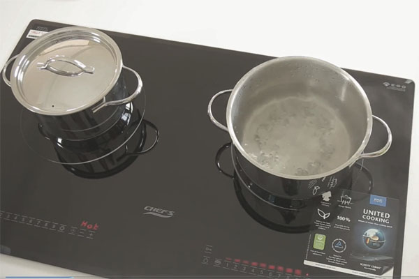 Hình ảnh thực tế bếp từ Chefs EH-DIH343