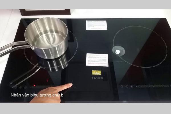 Hình ảnh thực tế bếp từ Faster FS AA 162I