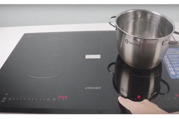 Hình ảnh thực tế bếp từ Kocher DI-733S