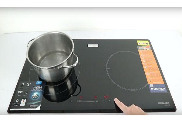 Hình ảnh thực tế bếp từ Kocher DI 801GE