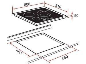 Bếp từ Teka IR 6320 3