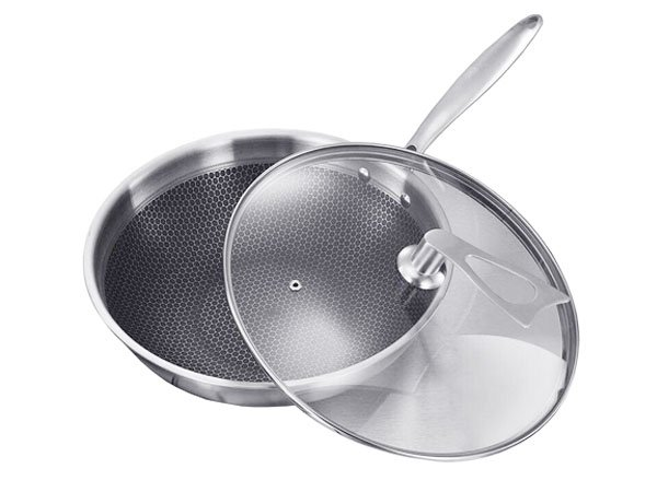 Chảo xào Stainless Steel 30 1