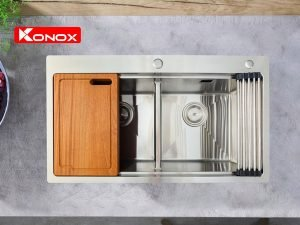 Chậu rửa bát Konox KN8250TD 4