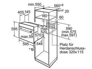 Lò nướng Bosch HBA22B250E 3