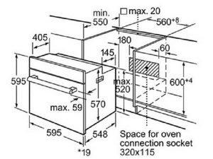 Lò nướng Bosch HBG675OS1 3