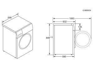Máy giặt Bosch WAT24441PL 3