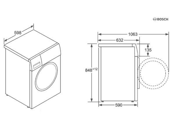 Máy giặt Bosch WAT24441PL 2