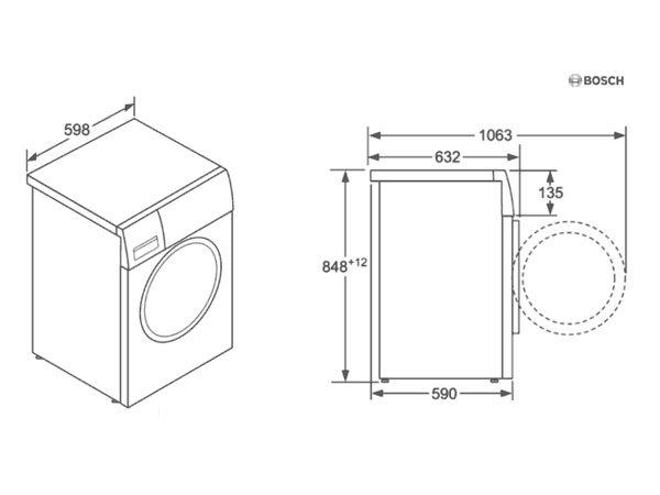 Máy giặt Bosch WAW24540PL 2
