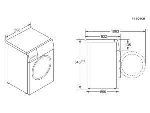 Máy giặt Bosch WAW32640EU 3