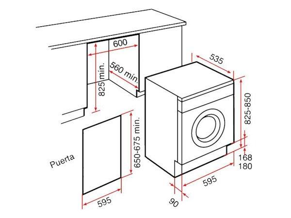 Máy giặt Teka LI2 1260 2