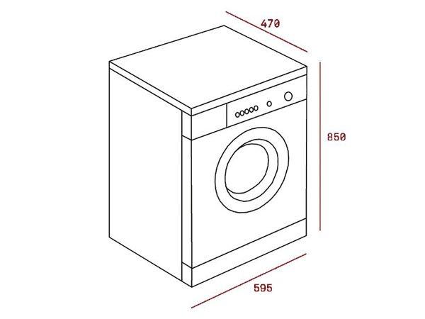 Máy giặt Teka TKX3 1260 2