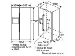 Tủ lạnh Bosch KAD92SB30 3