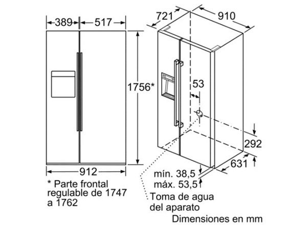 Tủ lạnh Bosch KAD92SB30 2