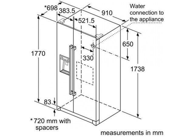 Tủ lạnh Bosch KAG90AI20G 2