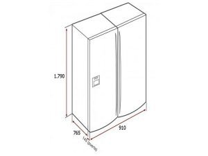 Tủ lạnh Teka NFE3-650X 3