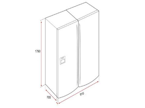 Tủ lạnh Teka NFD 650 2