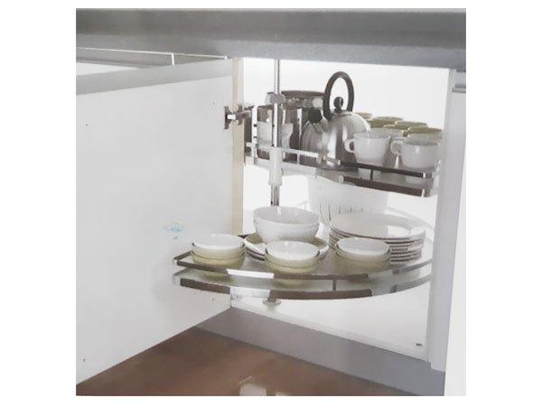 Mâm xoay tủ bếp Edel GB-168 1