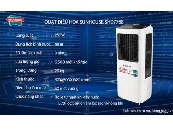 Quạt điều hòa Sunhouse SHD7768 2