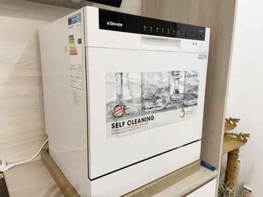 Hình ảnh thực tế máy rửa bát Kocher DW08EU-8838