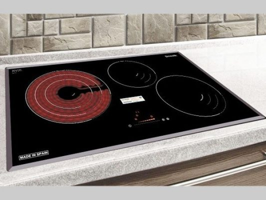 Hình ảnh lắp đặt thực tế bếp điện từ Dmestik NA 773IT